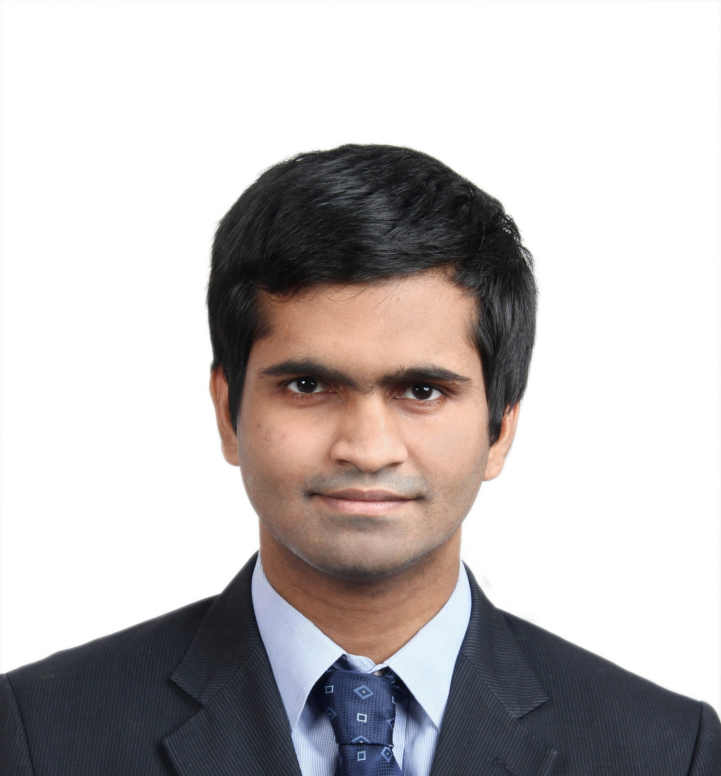Headshot picture of Srikanth Tangirala